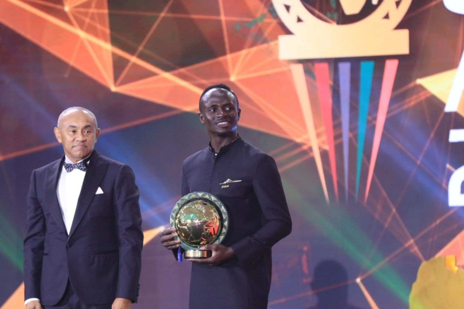 Sadio Mane wins African Player of the Year at CAF awards 2019