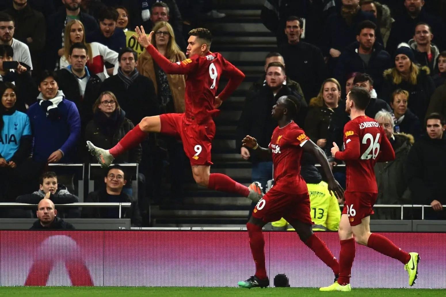 Tottenham 0-1 Liverpool – Highlights: Firmino goal downs Spurs (Video)