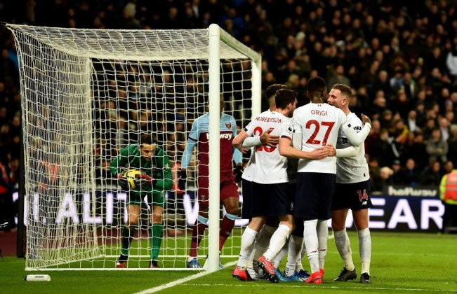 West Ham vs Liverpool Highlights