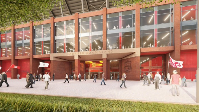 Anfield Road End Redevelopment