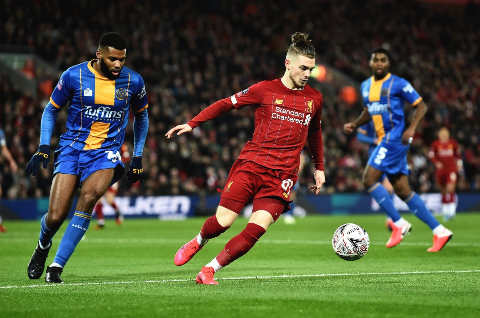 Liverpool 1-0 Shrewsbury Town: As it happened & reaction