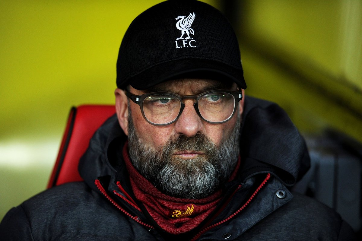 Jurgen Klopp delivers his verdict as Liverpool succumb to shock first defeat against Watford