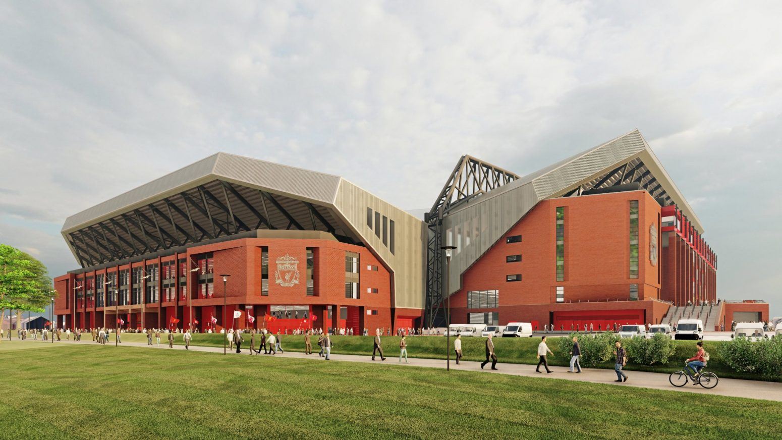 Liverpool hopeful of beginning work on Anfield Road End redevelopment this year