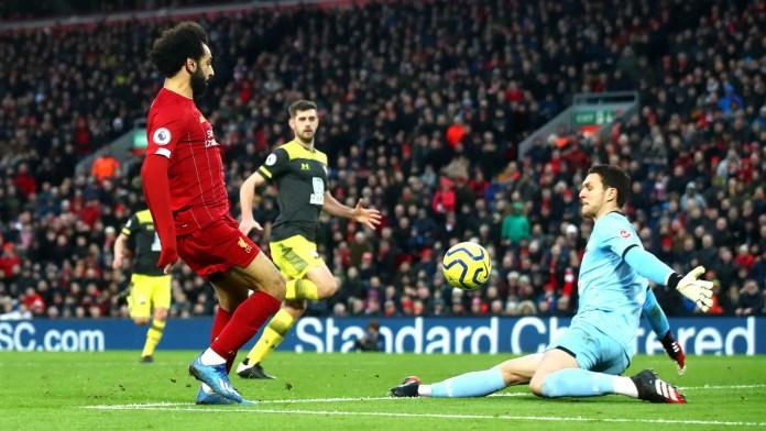 Salah Goal vs Southampton