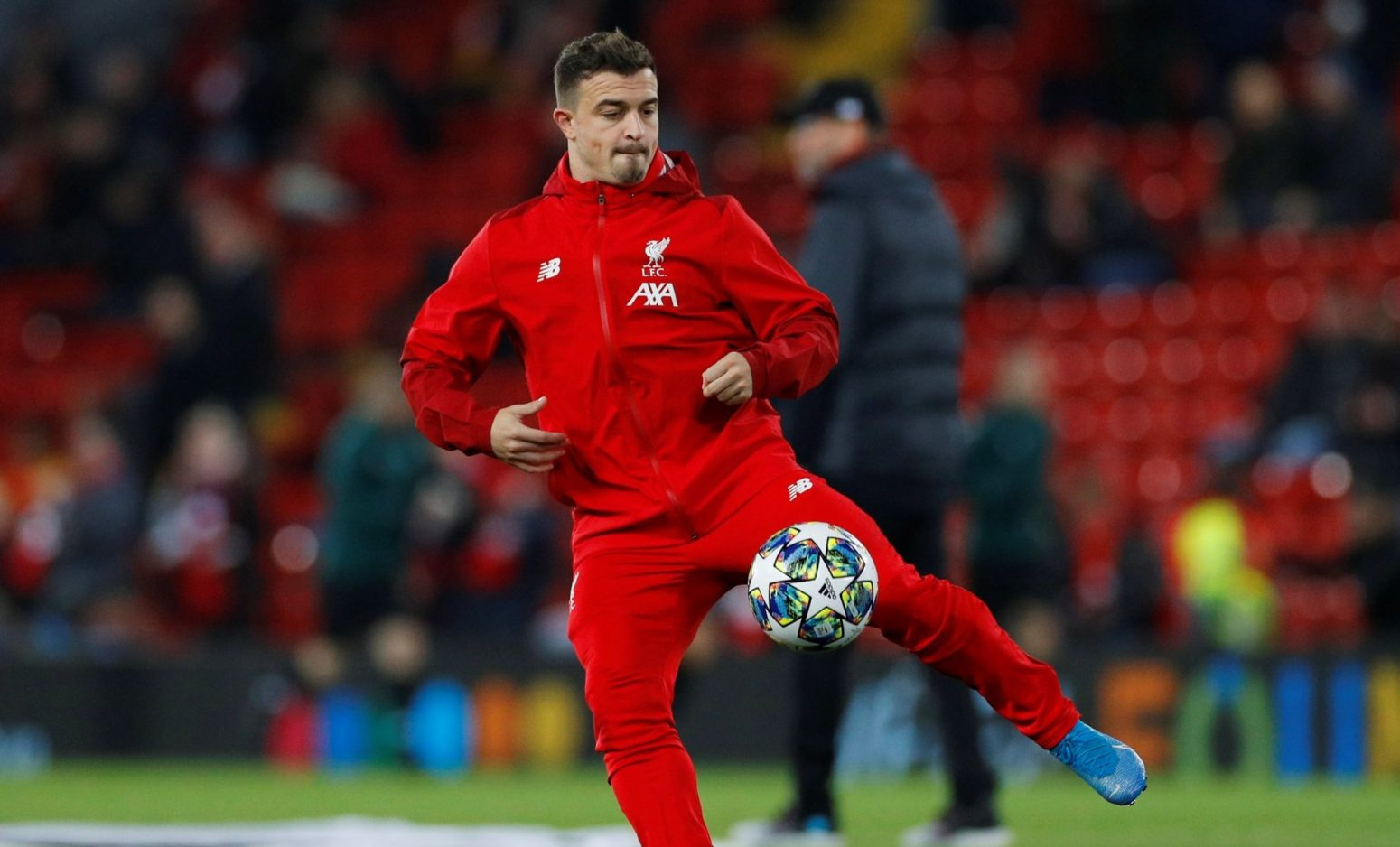 Xherdan Shaqiri to leave Liverpool this summer as Italian clubs circle for his signature