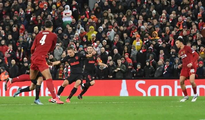 Liverpool 2-3 Atletico Madrid