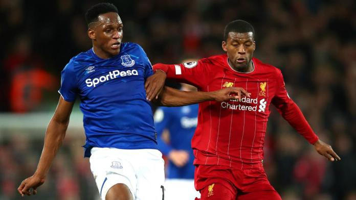 Everton vs Liverpool Streaming