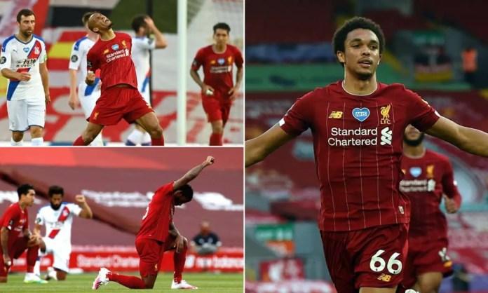 Liverpool 4-0 Crystal Palace