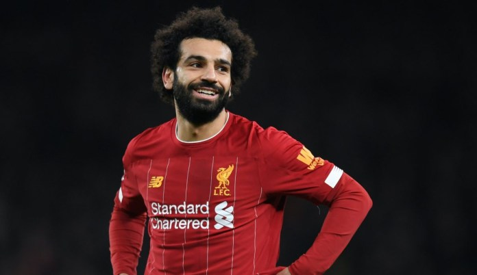 Salah - Liverpool vs Crystal Palace