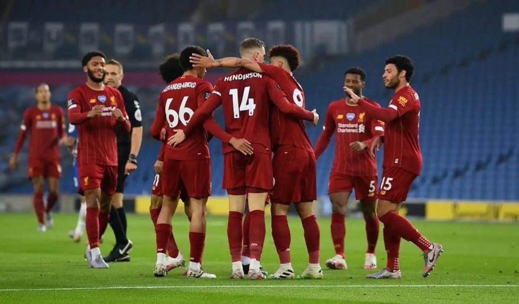 Brighton vs Liverpool Stream