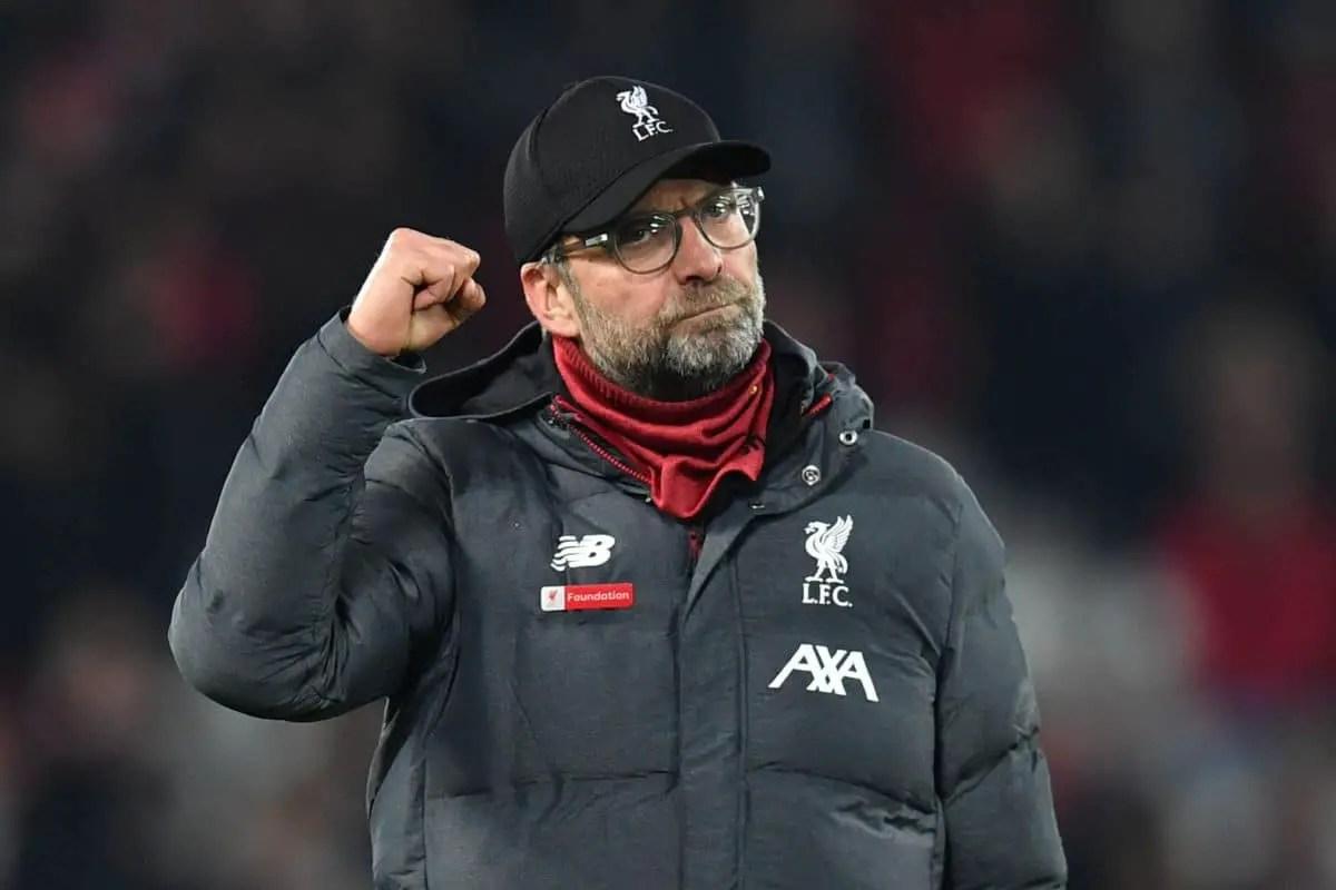 Jurgen Klopp heaps praise upon title-winning Liverpool squad