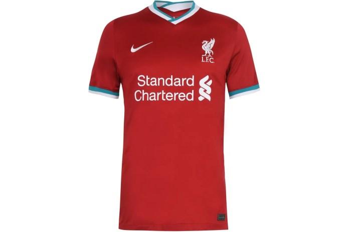 Liverpool 2020-21 Home Kit