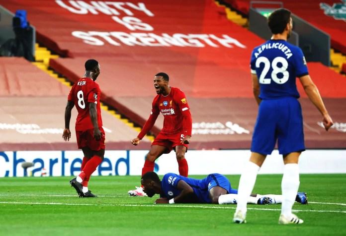 Liverpool vs Chelsea Highlights