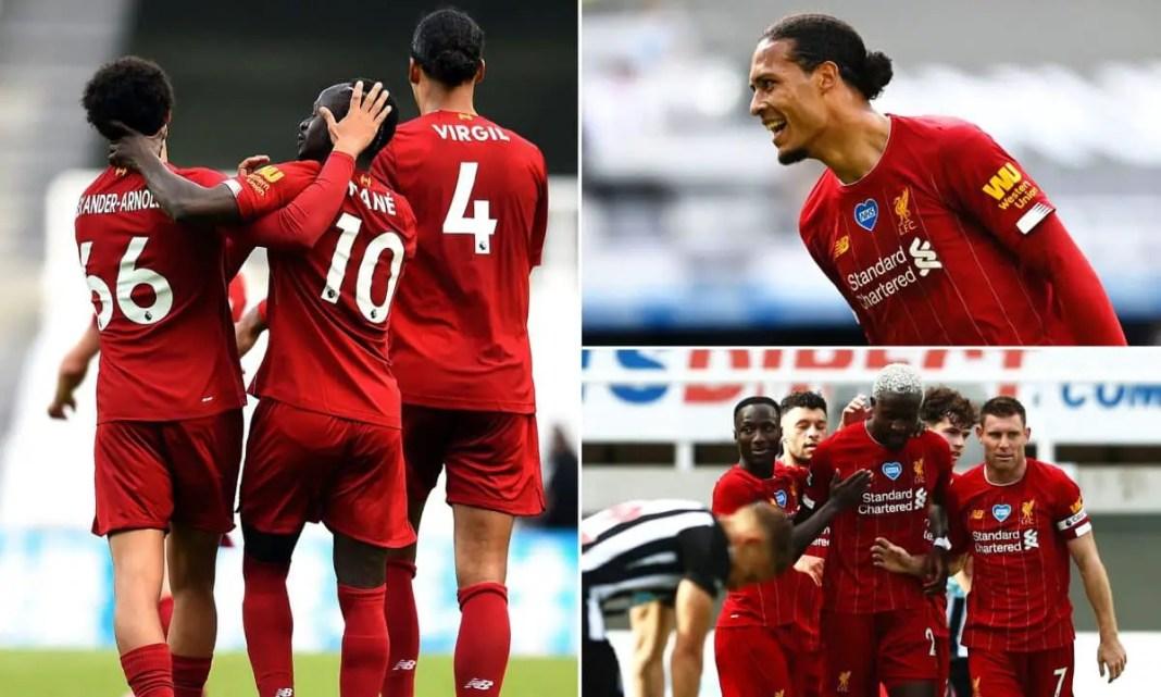 Newcastle vs Liverpool Photos