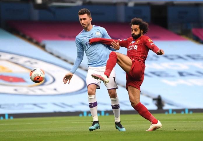 Mohamed Salah vs Man City