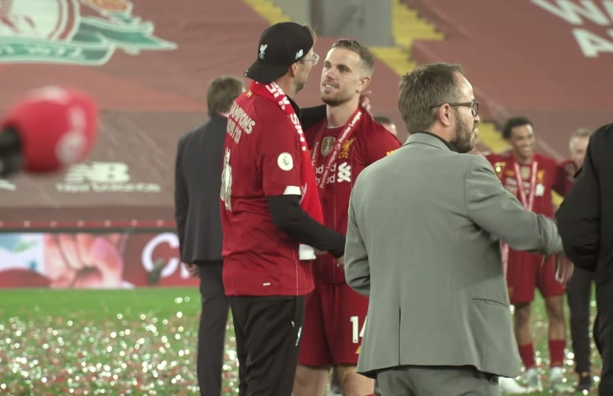 Watch: Unseen Anfield footage from Liverpool's Premier League trophy lift