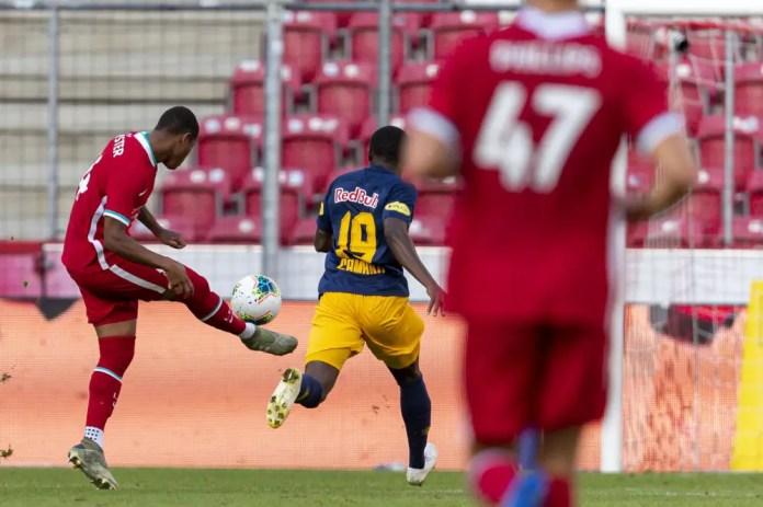 Brewster Goal - Salzburg vs Liverpool