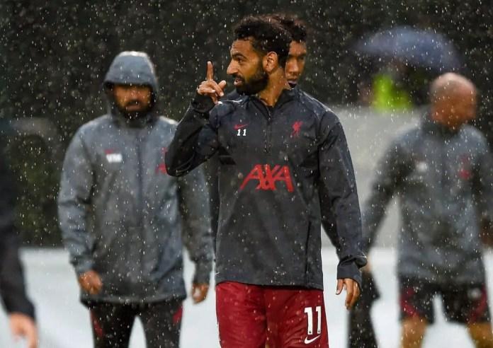 Salah - Liverpool vs Stuttgart