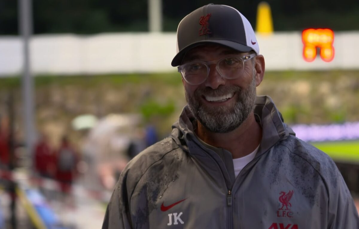 "Jurgen Klopp ""very happy"" with Liverpool's opening pre-season victory vs Stuttgart"