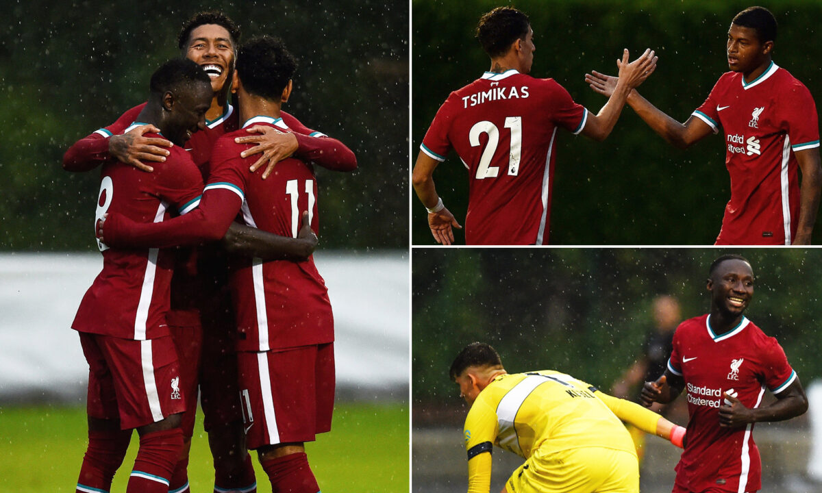 In Photos: Liverpool ease to routine pre-season victory over Stuttgart in Austria