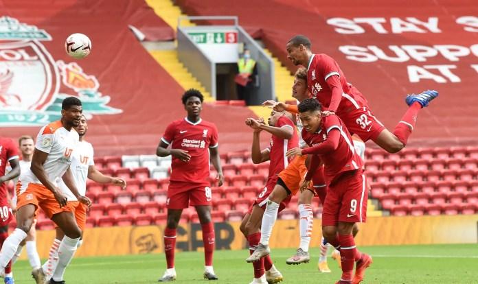 Liverpool vs Blackpool Goals