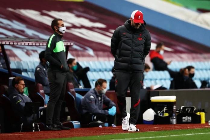 Jurgen Klopp - Aston Villa vs Liverpool