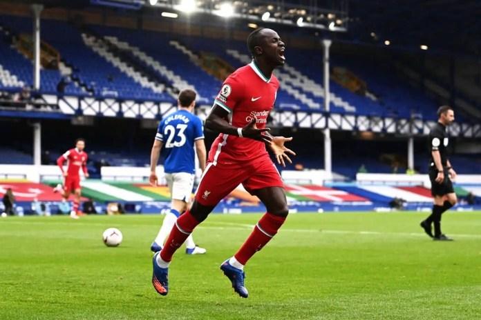 Everton vs Liverpool - Sadio Mane