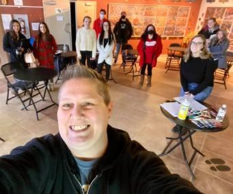Group selfie!