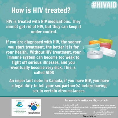 How is HIV treated_