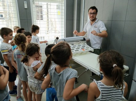 Visit of the French Bakery School