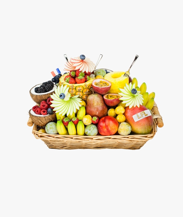 corbeille de fruits frais a paris