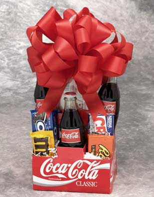 coke gift baskets