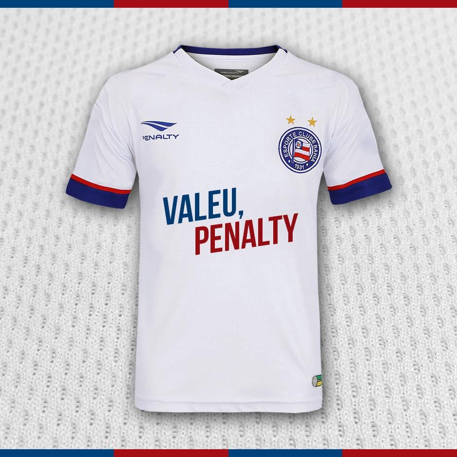 Bahia rompe com a Penalty e anuncia novo fornecedor de material esportivo