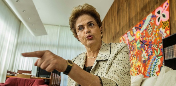 "Dilma Rousseff chama Michel Temer de ""herança negativa"""