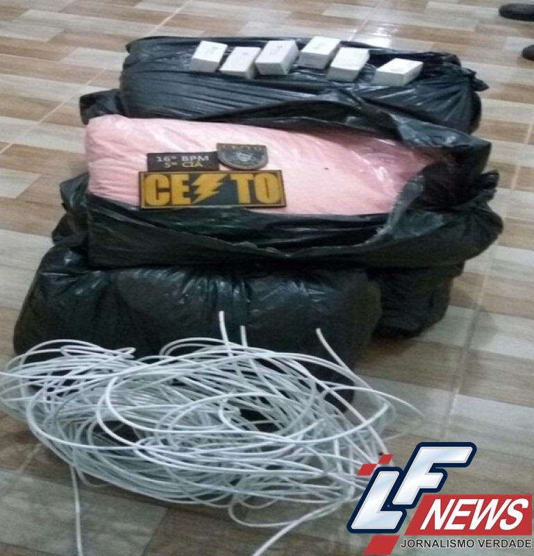 Polícia apreende 175 kg de explosivos em Santa Luz