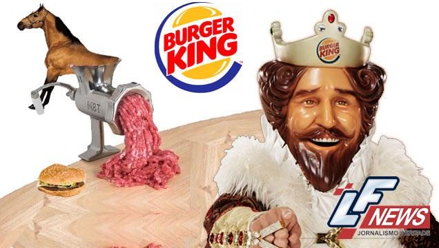 Curiosidades: Burguer King já comercializou hambúrgueres com carne de cavalo