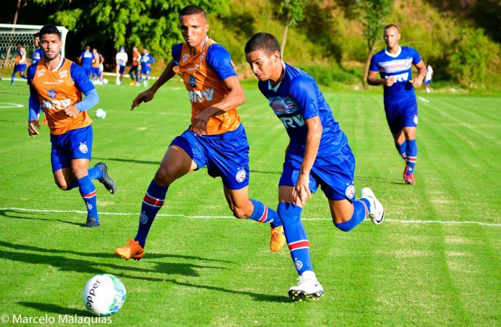 Bahia enfrenta o Bragantino visando se aproximar do G-4