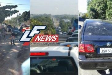 Após explodirem agência, bandidos são baleados próximo a Lauro de Freitas em confronto com a PM