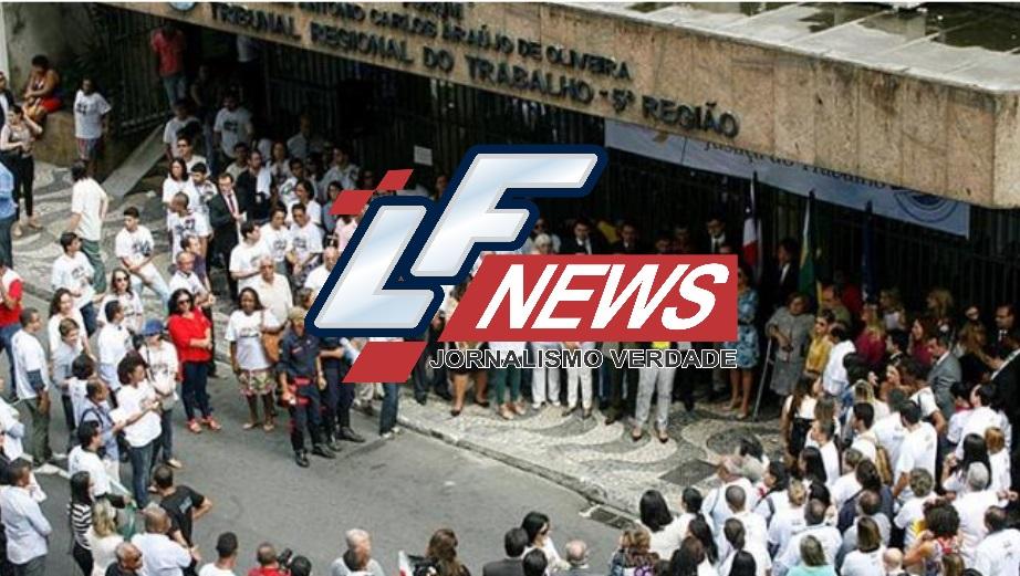 OAB da Bahia faz protesto contra corte no orçamento da Justiça do Trabalho