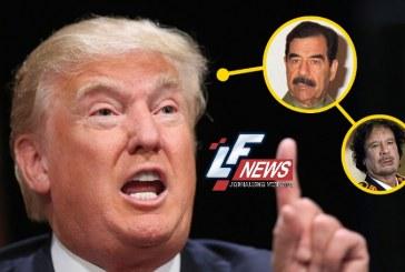 "Trump elogia Saddam Hussein por ""matar terroristas"""