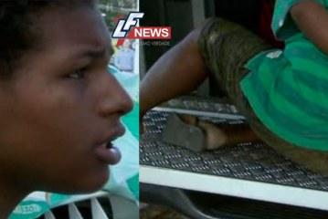 """Mulher é presa acusada de roubar fraldas e diz que """"usa drogas com farinha"""""""