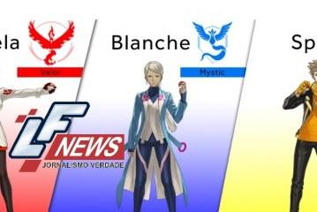 Conheça os líderes das três facções de Pokémon GO