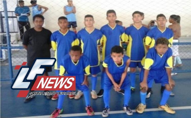 Estudantes da rede municipal de ensino participam de torneio de futsal em Lauro de Freitas