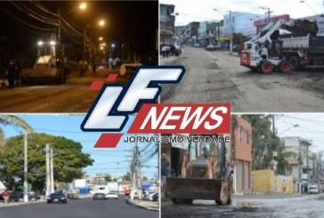 Prefeitura de Lauro de Freitas intensifica serviços de pavimentação e drenagem