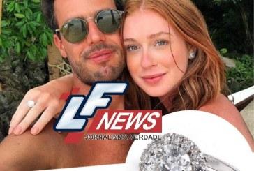 Marina Ruy Barbosa ganha anel de noivado que vale R$ 500 mil, diz jornal