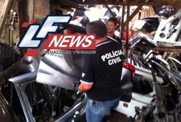 Delegado é preso após utilizar peças de carros roubados