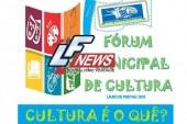 Inscrições abertas para o Iº Fórum Municipal de Cultura