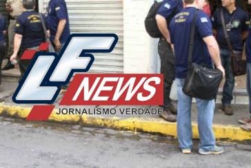 Receita Federal em Lauro de Freitas esta com as atividades paralizadas