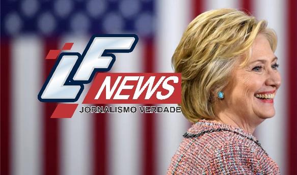 Hillary Clinton é primeira mulher a concorrer à Presidência dos EUA