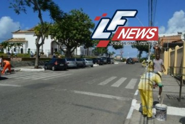 Prefeitura de Lauro de Freitas realiza serviços públicos na cidade